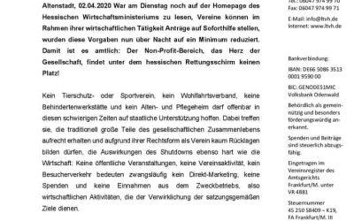 Pressemitteilung Landestierschutzverband Hessen e.V.