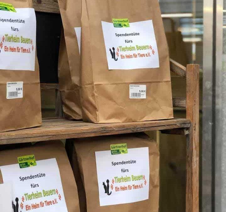 Futterspendentüten
