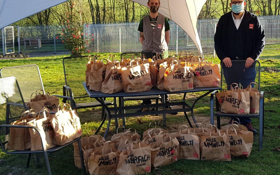 Tierfutter-Spenden-Aktion von Rewe Felsberg